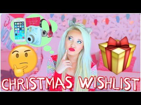 Christmas Wishlist 2016 / Teen Gift Guide!