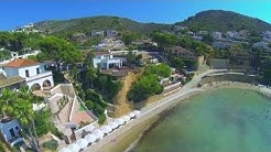 Drone footage of Spain: Javea, Denia & Moraira. With Chakra healing music, 384 Hz, Throat Chakra.