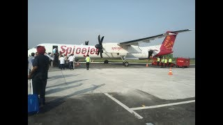 First flight take off from Adampur airport to Delhi