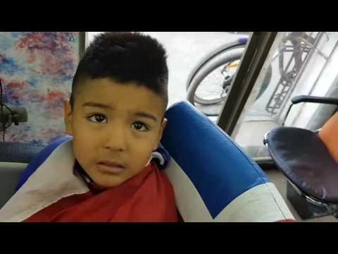 Hc barber Shop corte de pelo degradado para niño