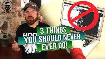 3 Blackhat Marketing Methods To AVOID | Do Not Do These Black Hat Methods