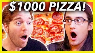 Download BUYING A $1000 PIZZA Mp3 and Videos