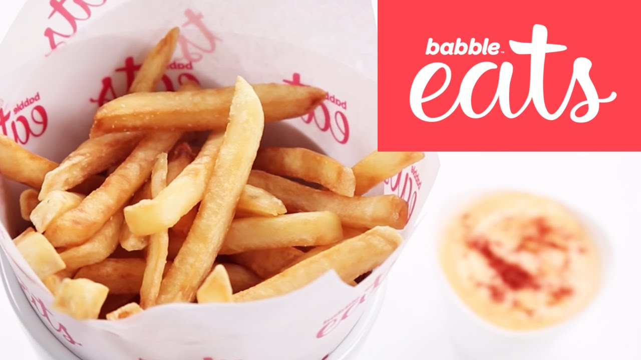 French Fries At Home Appetizers Snacks Babble Eats Youtube