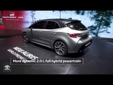 Toyota at Geneva Motor Show 2018 | New Auris