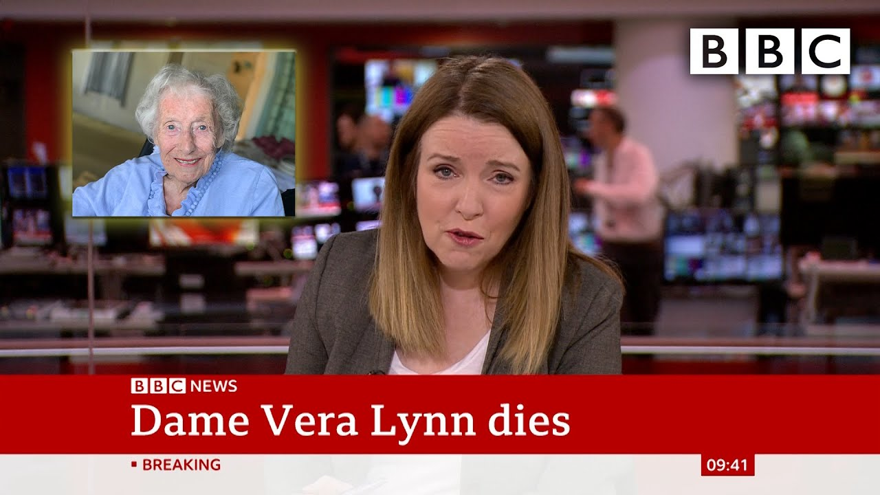 Forces' Sweetheart Dame Vera Lynn dies at age 103 @BBC News - BBC