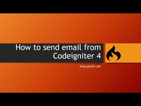 How To Send Email From Codeigniter 4