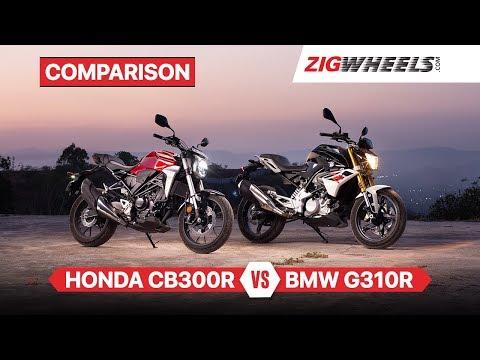 Honda CB300R India vs BMW G310R | Feat. KTM 390 Duke & Royal Enfield Interceptor 650 | ZigWheels.com