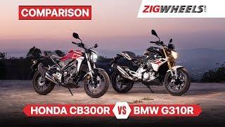 Honda Cb300r Vs Ktm Duke 390 Rs 3 Lakh Decision Motorbeam