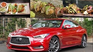 2017 infiniti q60 red sport 400 review dine dash 3 socal edition