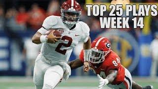 College Football Top 25 Plays 2018-19    Week 14 ᴴᴰ