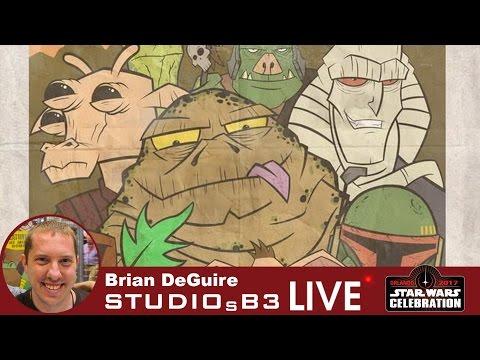 Star Wars artist interview with Brian DeGuire
