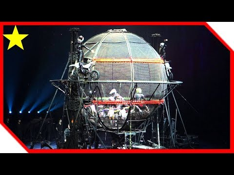Chimelong International Circus Part 4 - Globe of death