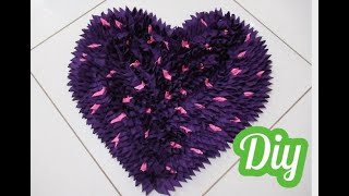 Tapete de Retalhos – How to make doormats using waste clothes