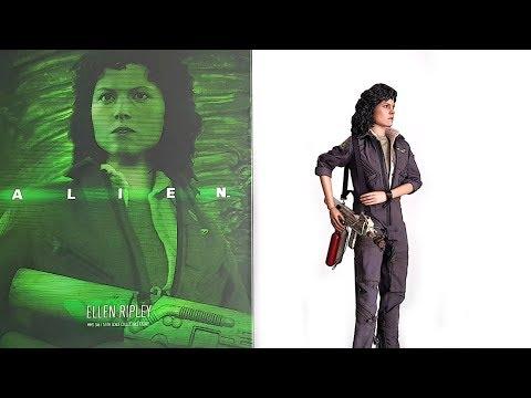 UNBOXING HOT TOYS ELLEN RIPLEY 1/6 SCALE FIGURE FROM ALIEN 1979