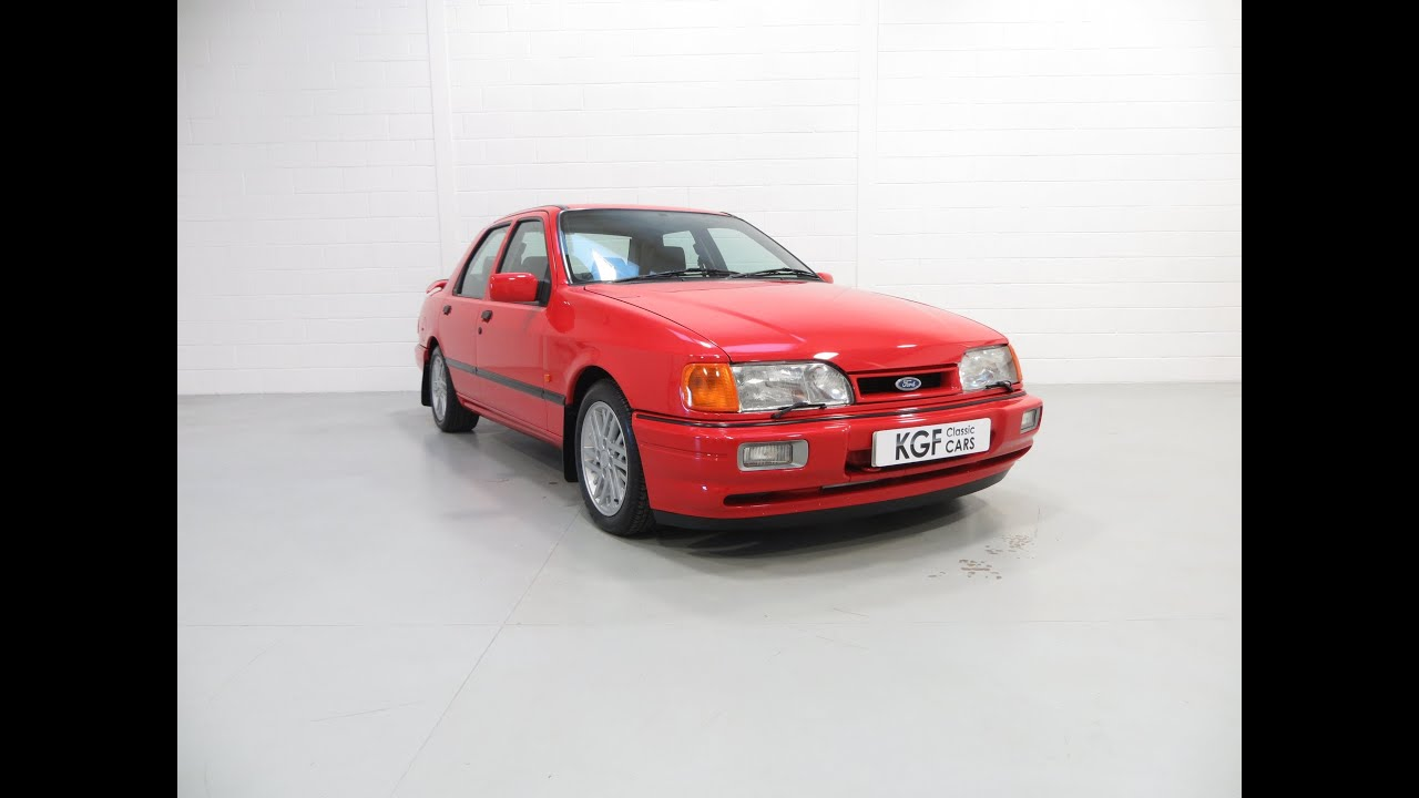 6k In Miles >> A Ford Sierra Sapphire 2WD Cosworth with 29,469 miles from the Renowned Bonkers Collection ...