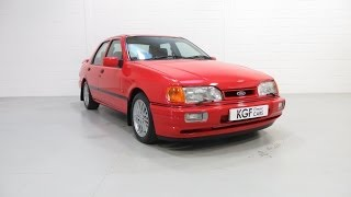 A Ford Sierra Sapphire 2WD Cosworth with 29,469 miles from the renowned Bonkers Collection. £24,995