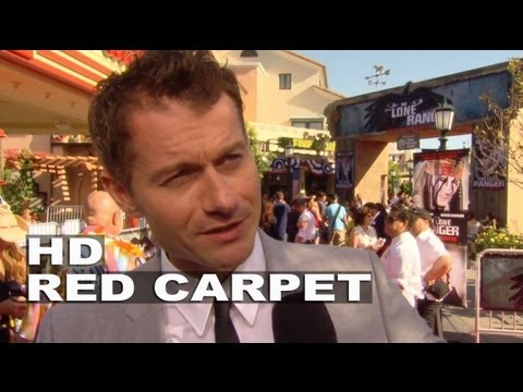 The Lone Ranger: James Badge Dale World Premiere Interview