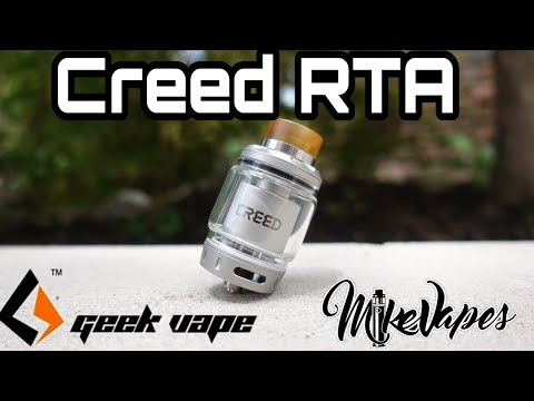 Geek Vape Creed RTA - She's A Beast!! - Build & Wicking Tutorial - Mike Vapes