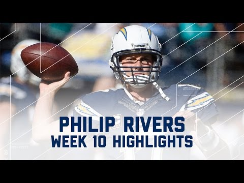 Philip Rivers Throws 4 Picks in Loss | Dolphins vs. Chargers | NFL Week 10 Player Highlights