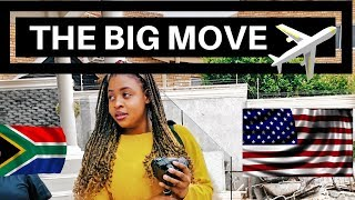 THE BIG MOVE: TRAVEL VLOG | SOUTH AFRICAN YOUTUBER