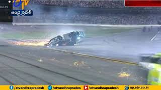 Ryan Newman hospitalized with non life threatening injuries after scary Daytona 500 crash