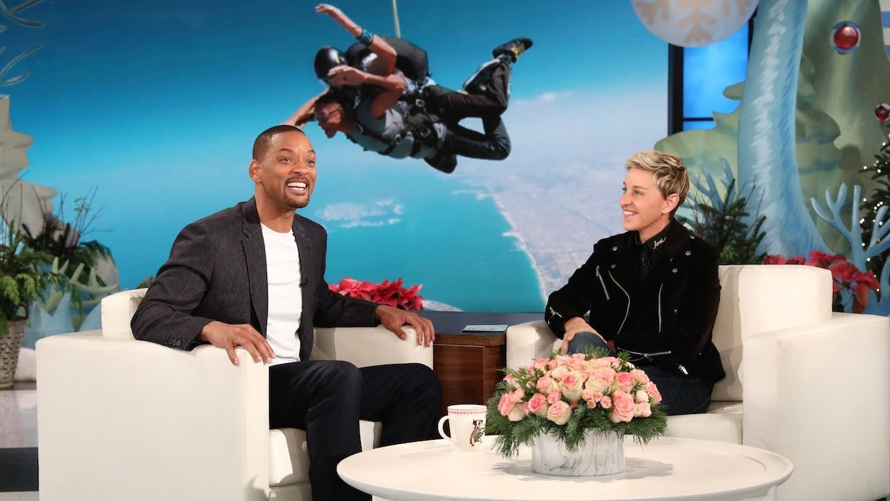Will Smith And Ellen Degeneres Compare Wax Figures And One Is Way