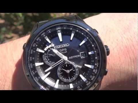 Seiko Astron GPS SAST007 watch review