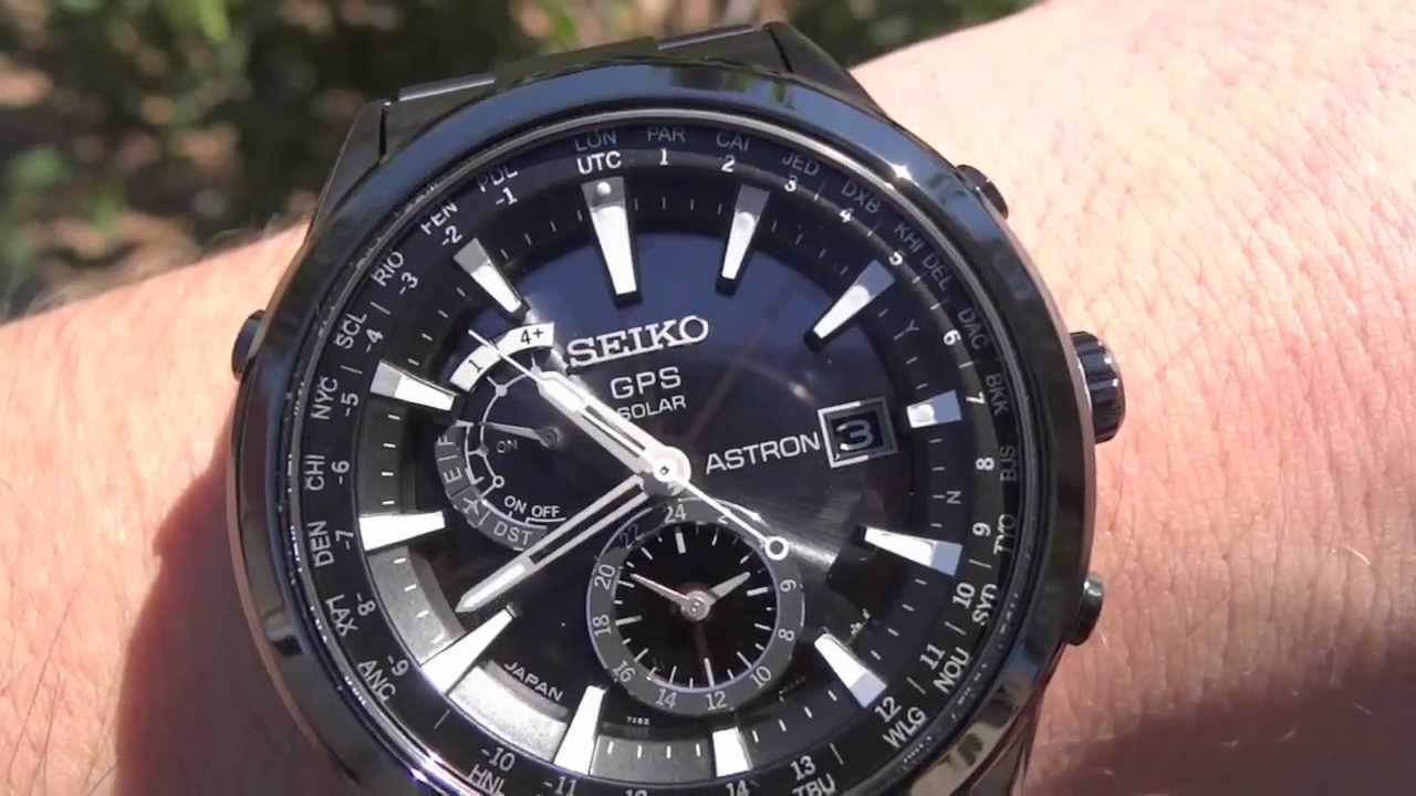 Seiko Astron GPS SAST007 watch review - YouTube 2ef3d8bd34b4