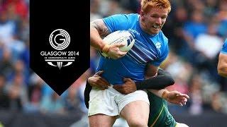 Rugby Sevens Quarter-Finals - Day 4  Highlights Part 3   Glasgow 2014
