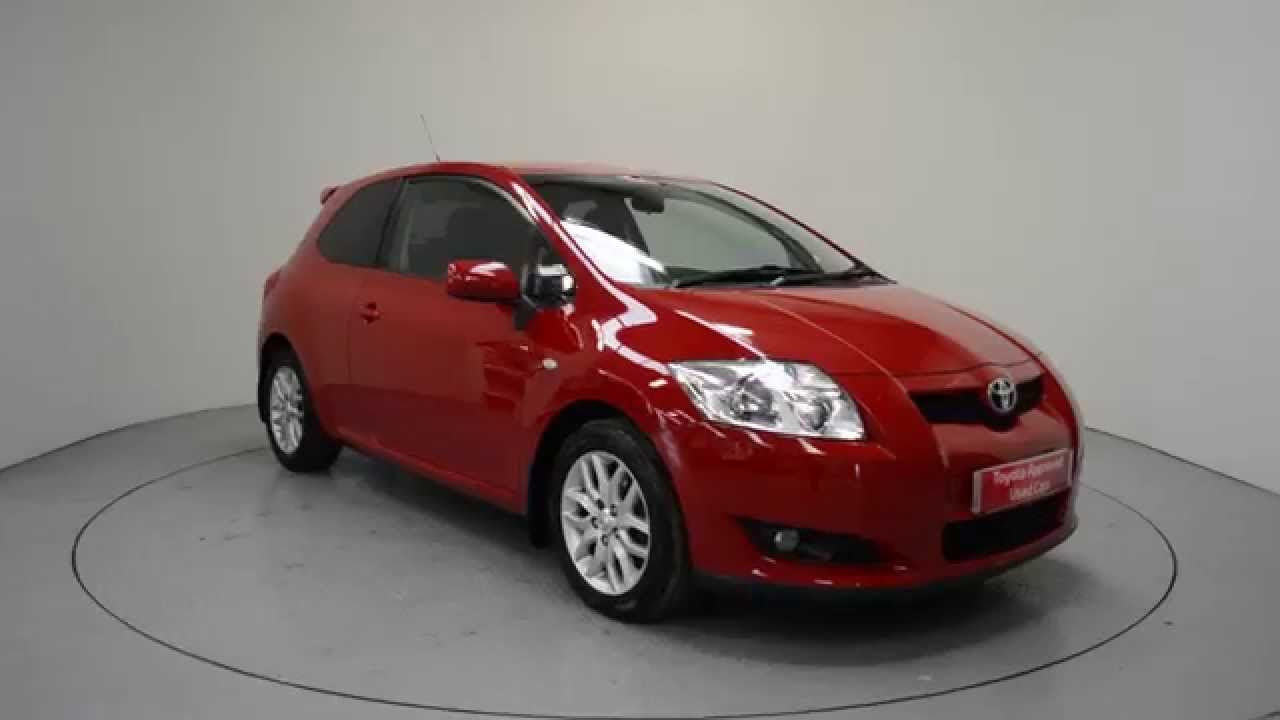 used 2007 toyota auris toyota ni shelbourne motors ni ulz7830 youtube. Black Bedroom Furniture Sets. Home Design Ideas
