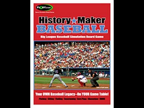 History Maker Baseball 1987 Atlanta Braves Game # 56 vs Los Angeles Dodgers