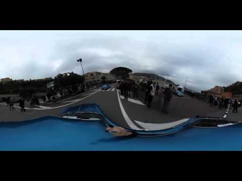 Alpine Planet - Départ de Monaco vers le Col de Turini en Alpine A110 - Ricoh Theta S