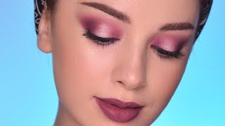 Soft Romantic Smokey Eye Makeup Tutorial | Valentine