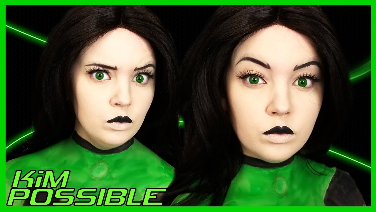 Shego From Kim Possible Makeup Tutorial