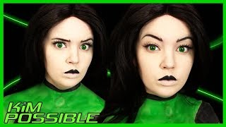 Shego from Kim Possible Makeup Tutorial (15 Minute Halloween Costume)