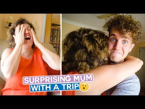 Surprising My Mum with a Trip!