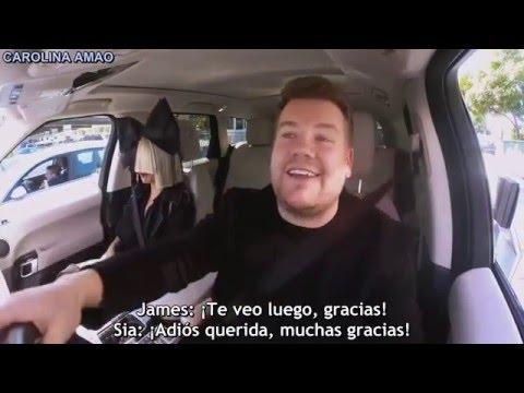 Sia Carpool Karaoke「Sub Español」P. 3 |  By Carolina Amao