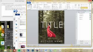 how to make an ebook cover in microsoft word part 1