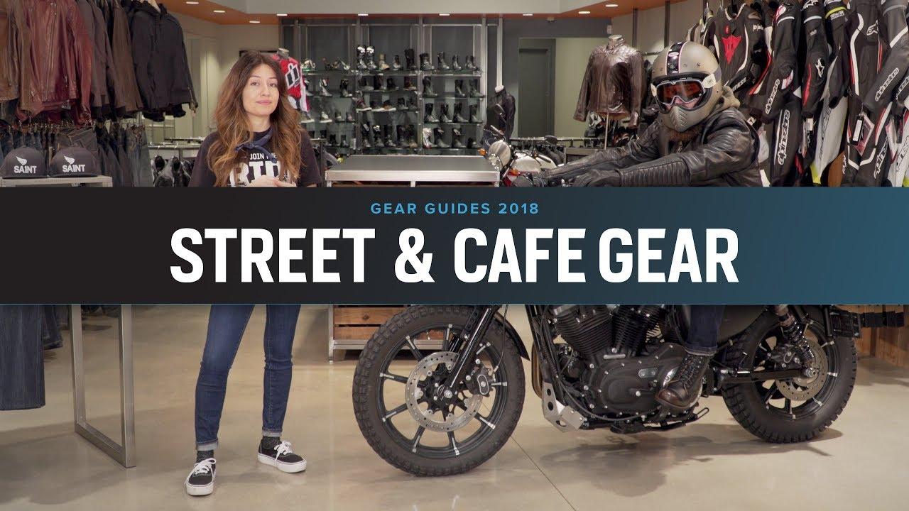 d7a1cf8cb Best Street & Cafe Motorcycle Gear 2018 at RevZilla.com