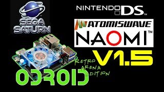 Retropie build by Odroid Retro Arena: V1.5 for Xu4 with support for Sega Saturn, DS, Naomi and more!