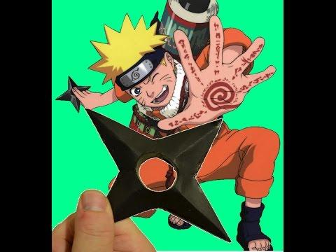 How To Make A Paper Ninja Star Shuriken 💥 Naruto 💥