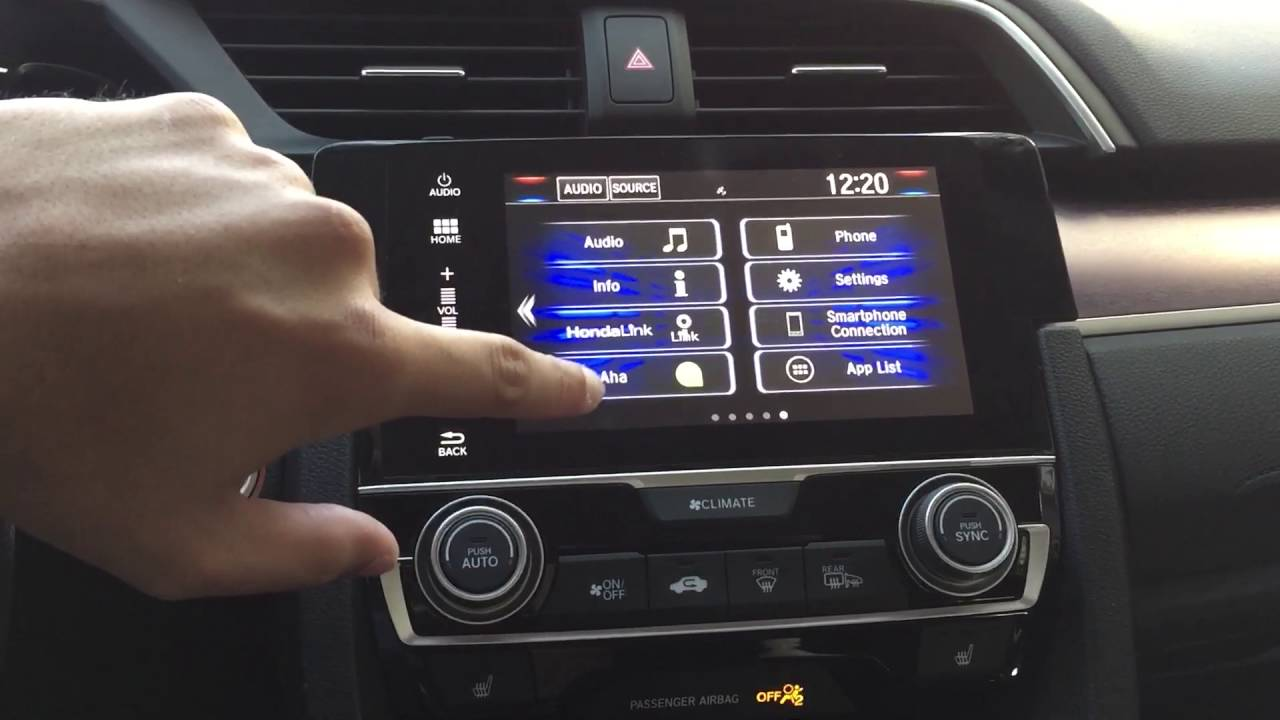 2016 Honda Civic Radio Reset Reboot Youtube