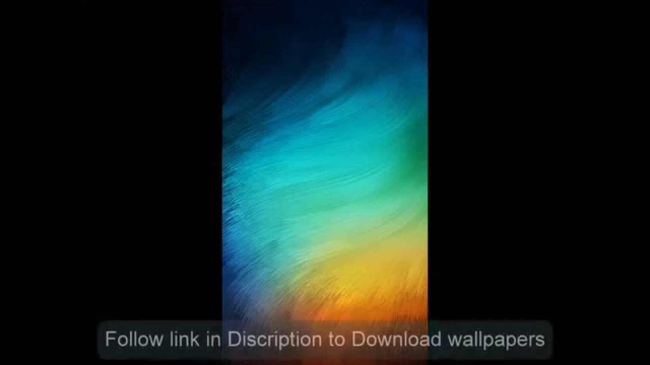 Xiaomi Wallpaper: Xiaomi MIUI 6 Lockscreen Wallpaper