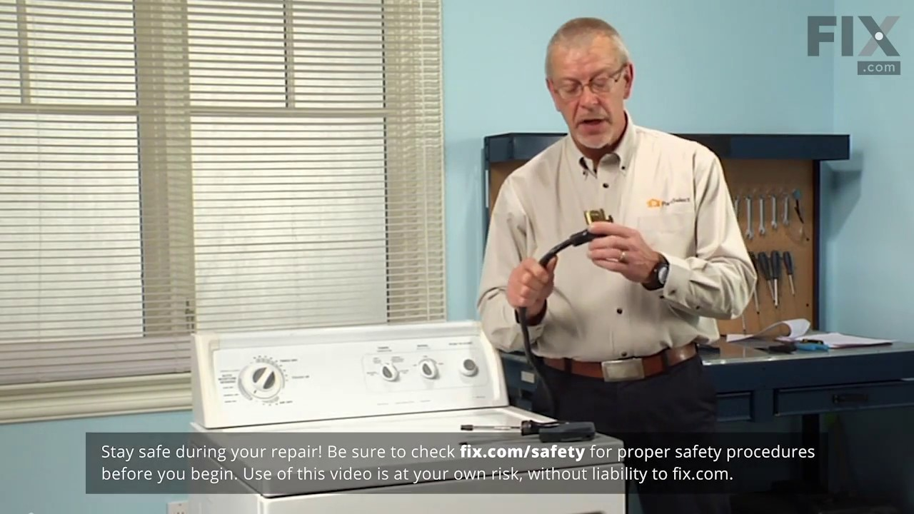 Kenmore Dryer Repair How To Replace The Heating Element Wire Youtube Diagram