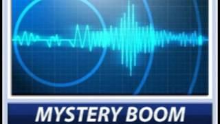 Mystery Booms Damage Man