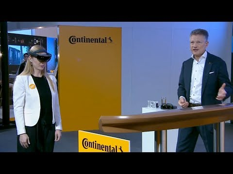 Continental Press Conference IAA 2017