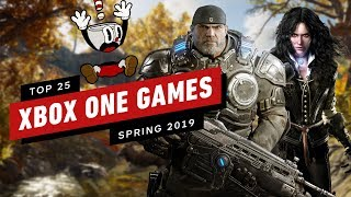 Top 25 Xbox One Games  Spring  2019 Update