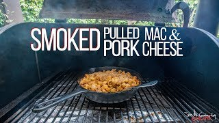 Smoked Pulled Pork Mac and Cheese | SAM THE COOKING GUY