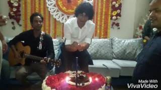 happy birthday song... aj jonmodin tomar by Jakir Sumon... video atik hasan