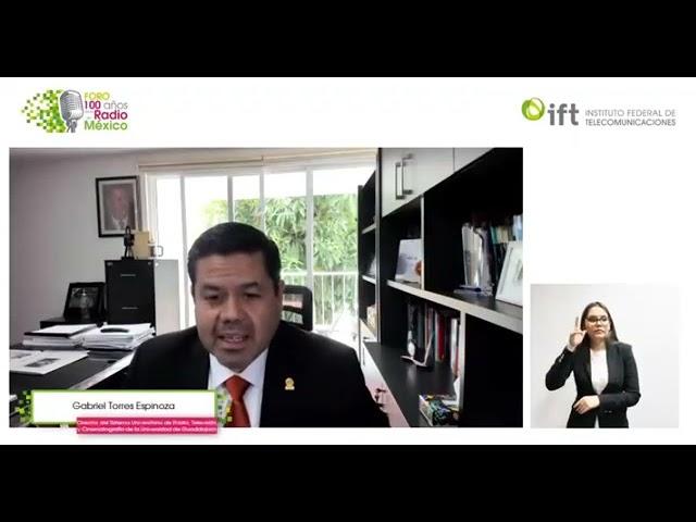 """Gabriel Torres Espinoza, """"La radio pública: vehículo para el desarrollo democrático. IFT"""